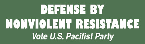 Defense by Nonviolent Resistance